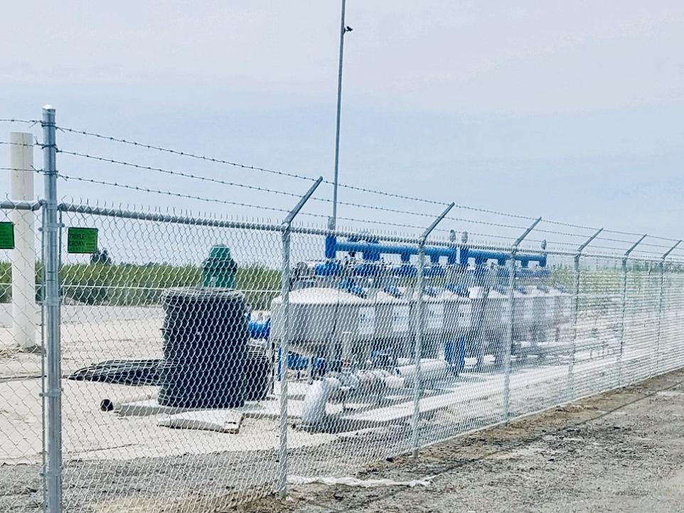 Irrigation Pump Enclosure- McFarland, CA