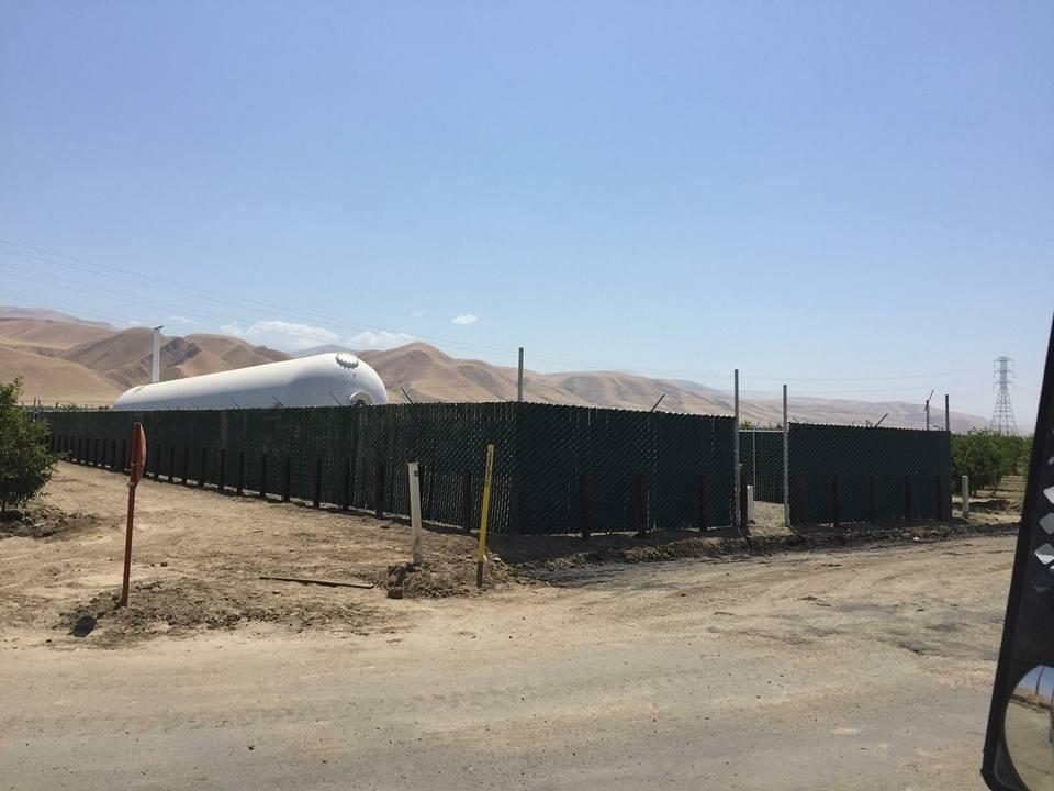 Gas Tank Enclosure- Maricopa, CA