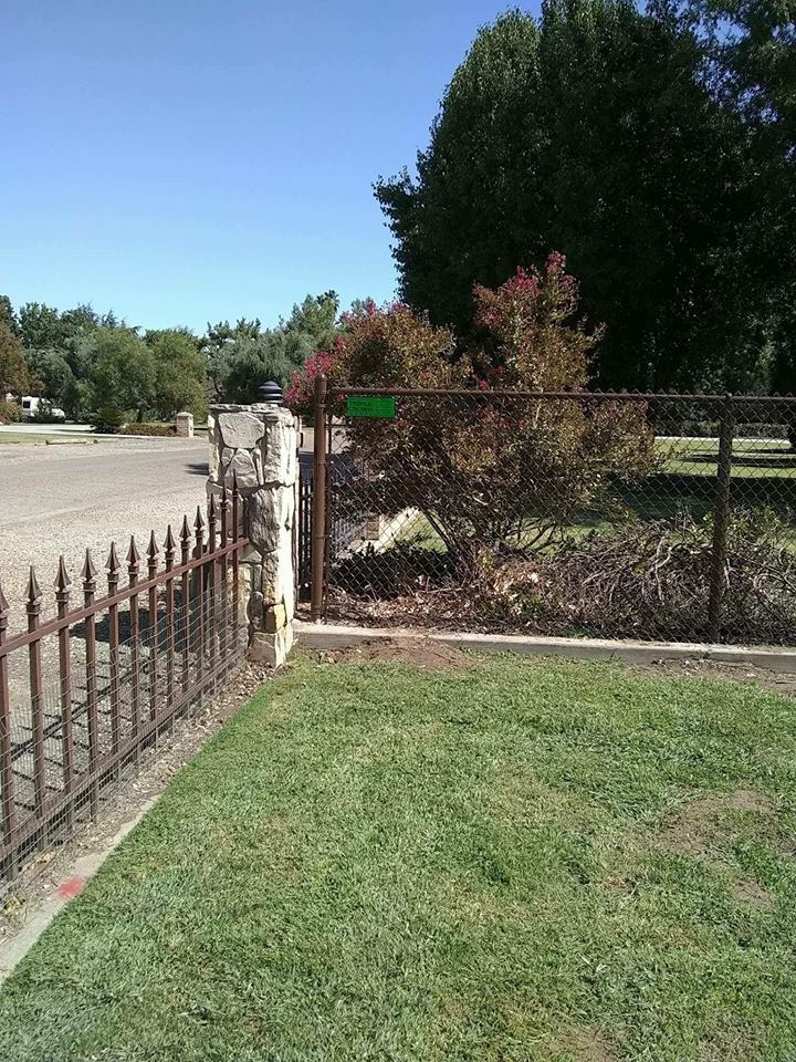 Residential Chain Link- Visalia, CA