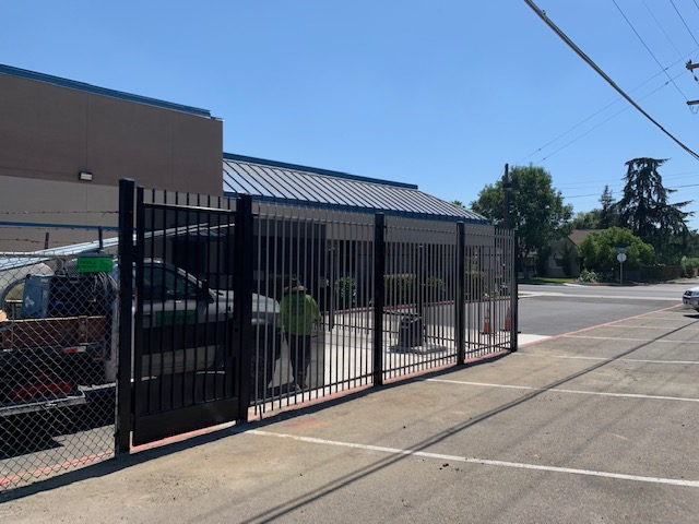 Wrought Iron Installation- Tulare City School District