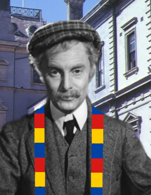 MR CHIPS LOST A BET IN SEPTEMBER 1959 AND HAD TO WEAR AN OLD SCOTCH SCARF TO BARKERS ROAD.