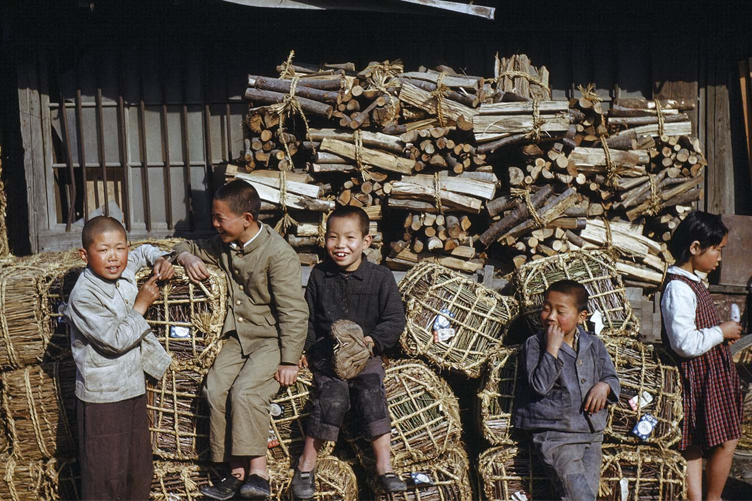 #11 Young Boys, Firewood