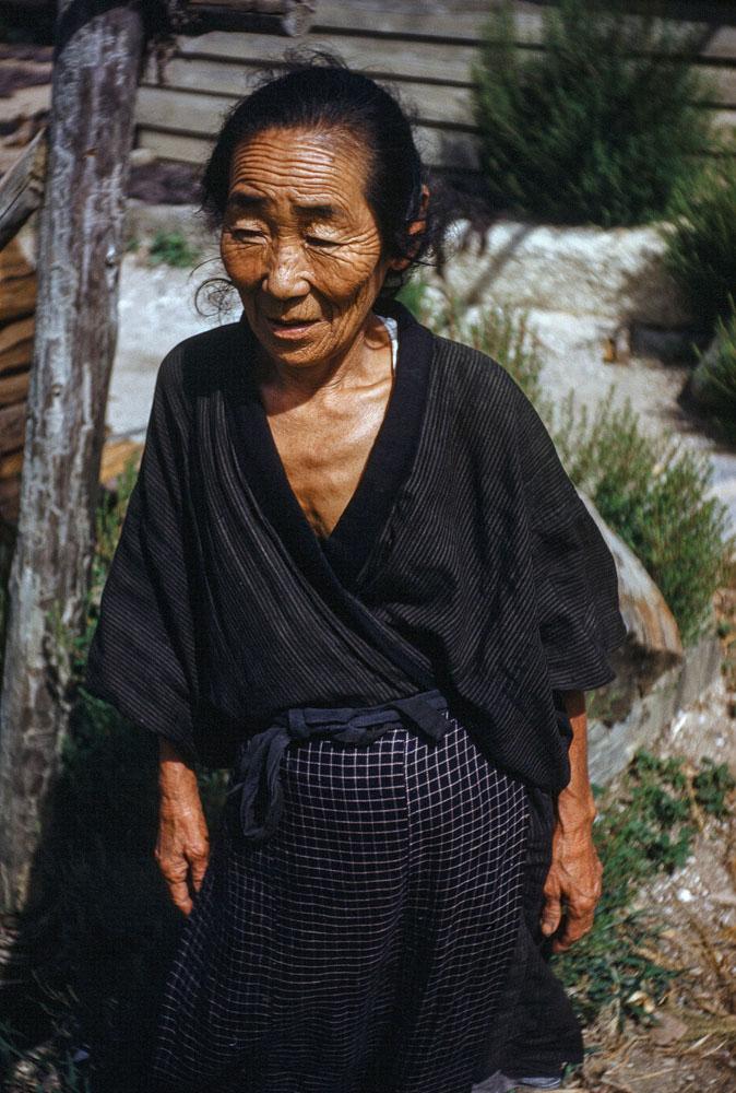 102 Older Woman in Black