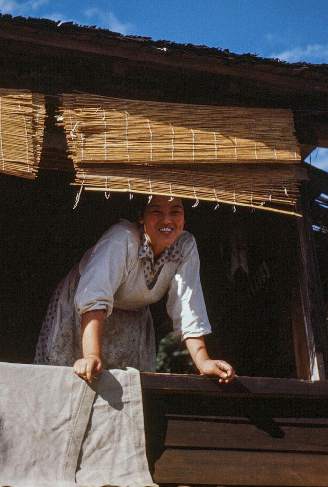 104 Woman in Window with Metal Teeth