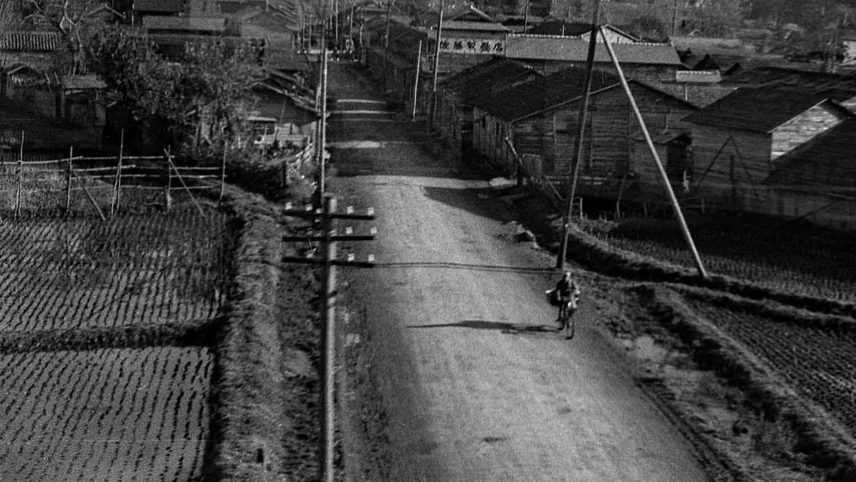 244- Bicycle on Road, Ishinomaki?