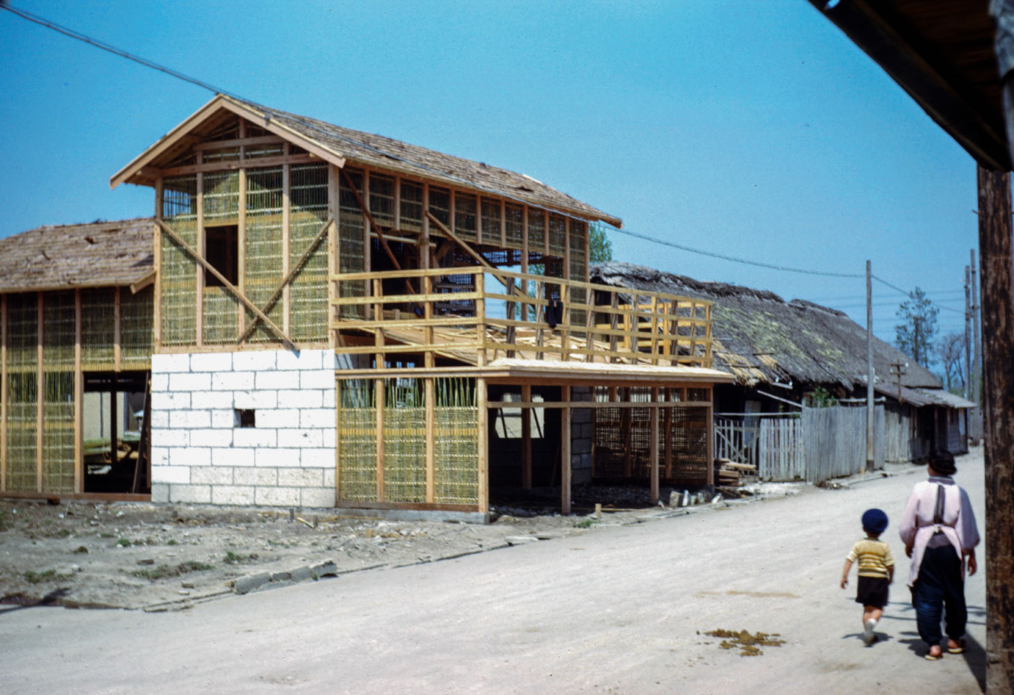 215- House under Construction