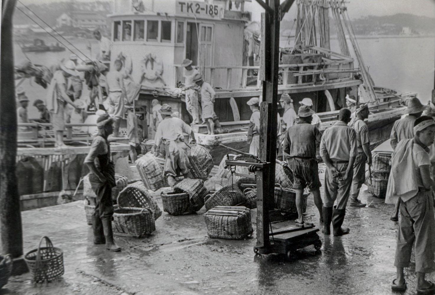128-Unloading Fishing Boat