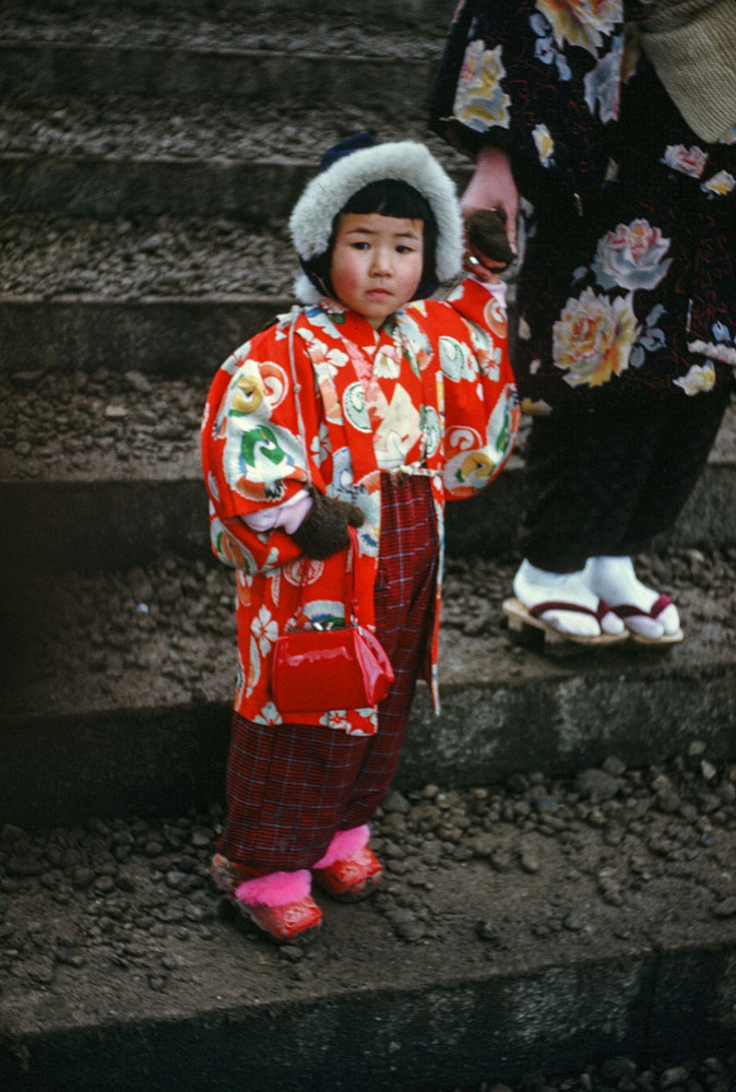 134- Young Girl in Festive Garb