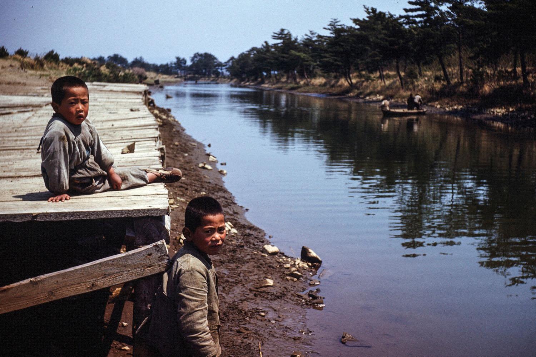 52-Canal near Camp Matsushima (now JASDF Base)