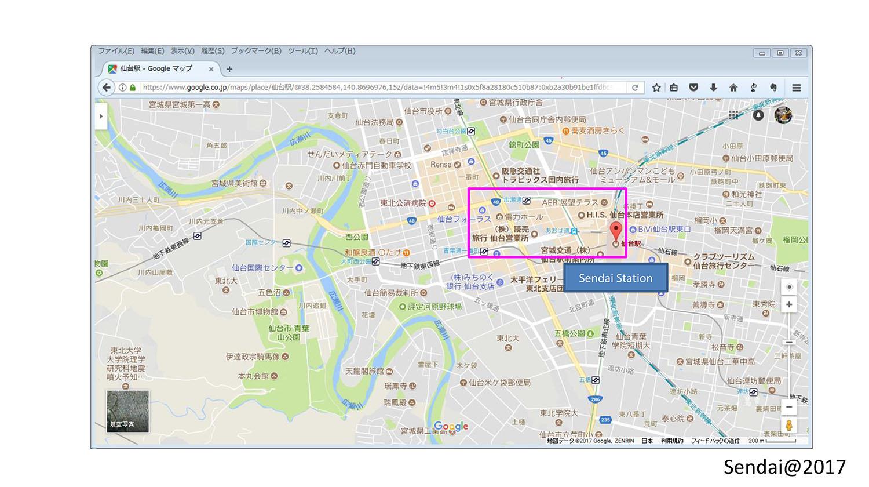 Area of Sendai Photos 114-217-218-219-224
