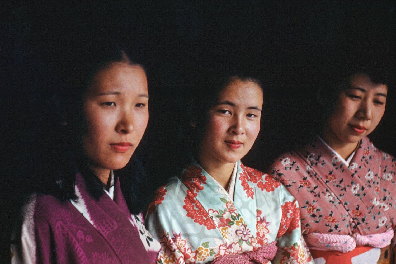 351- Three Women in Kimonos
