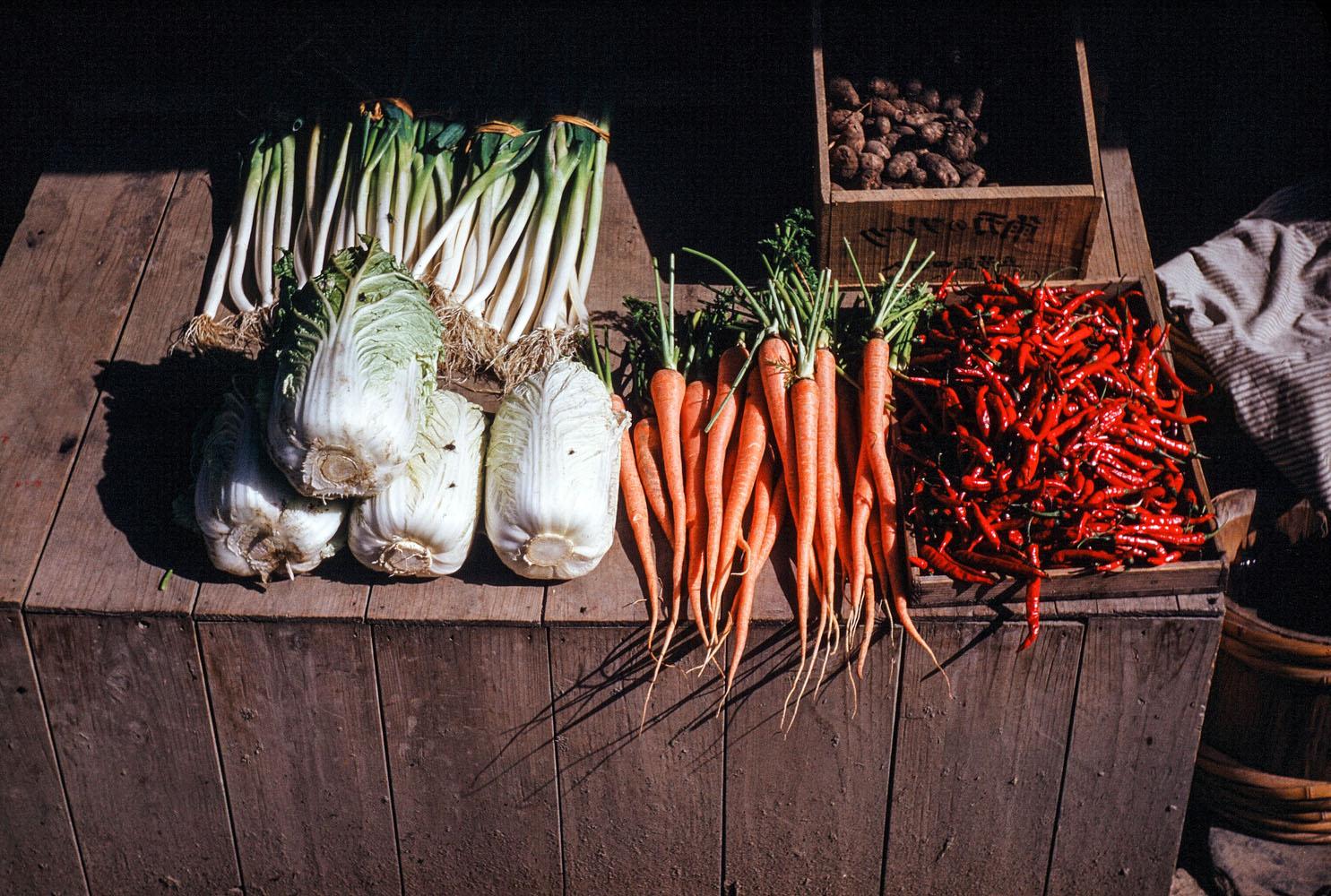 364-Vegetable Display