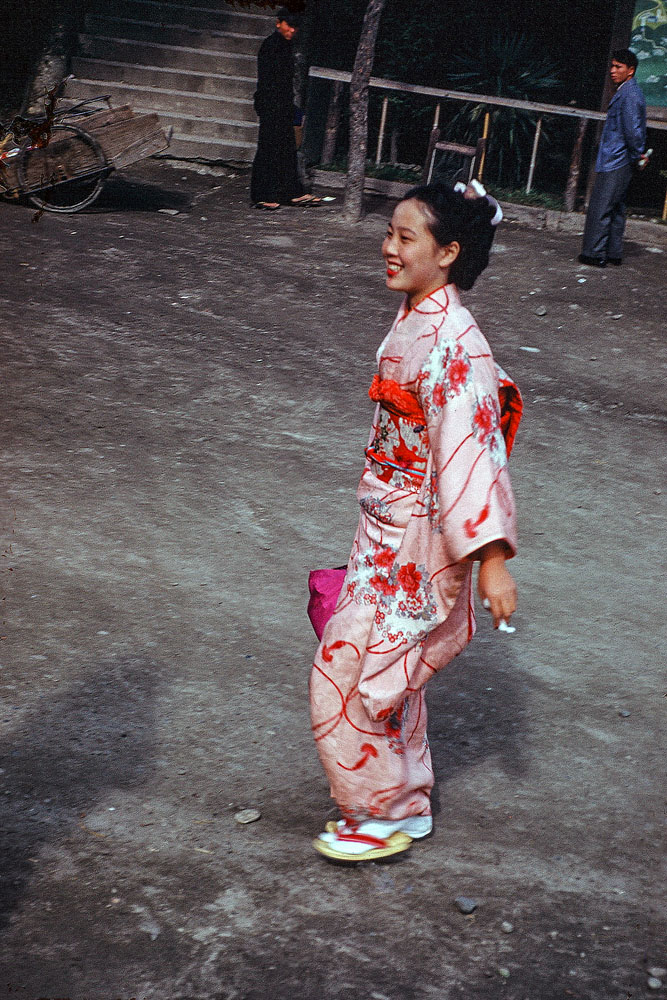 378-Woman in Kimono 2