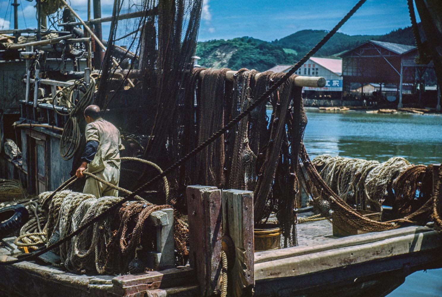 410-Fishing Boat at Dock