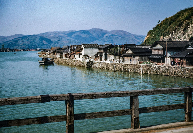 414-Kyukitakami Bridge, Beyond Island looking North?