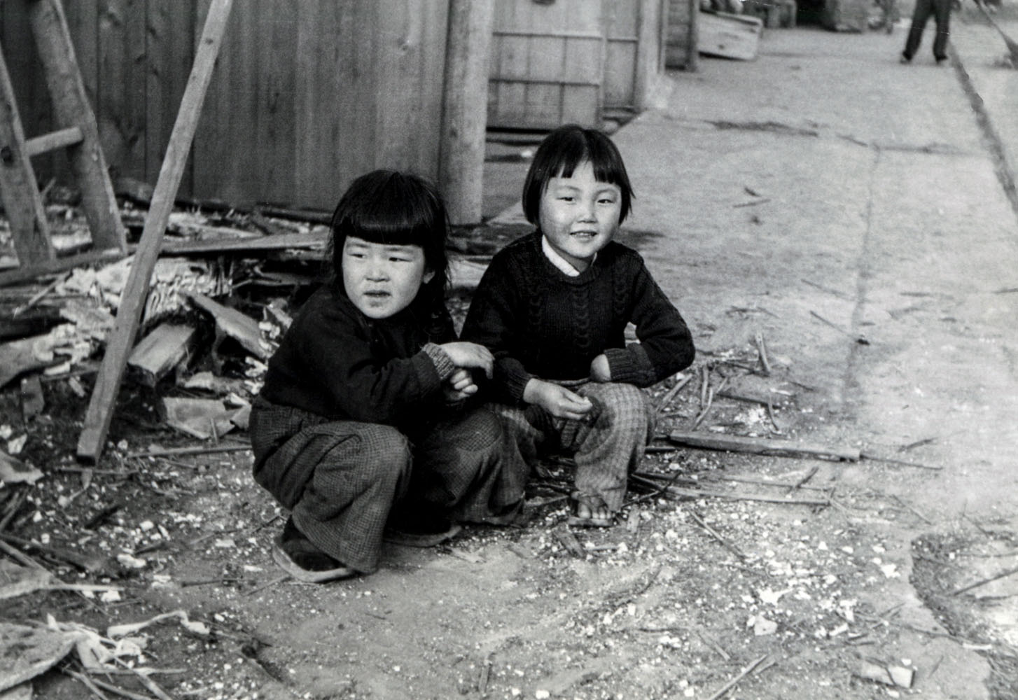 21- Two young girls