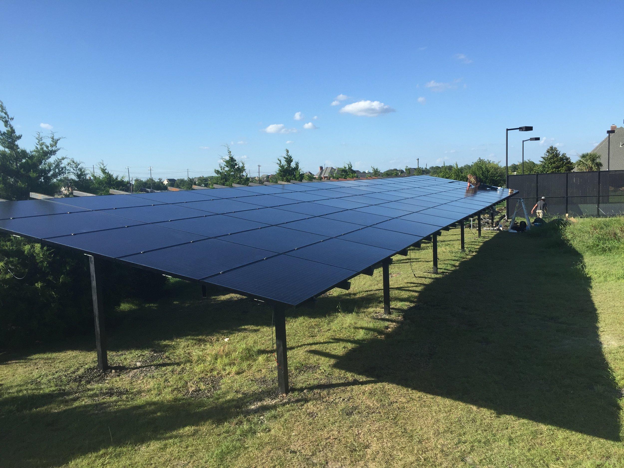 24 kW system in Rockwall, Tx
