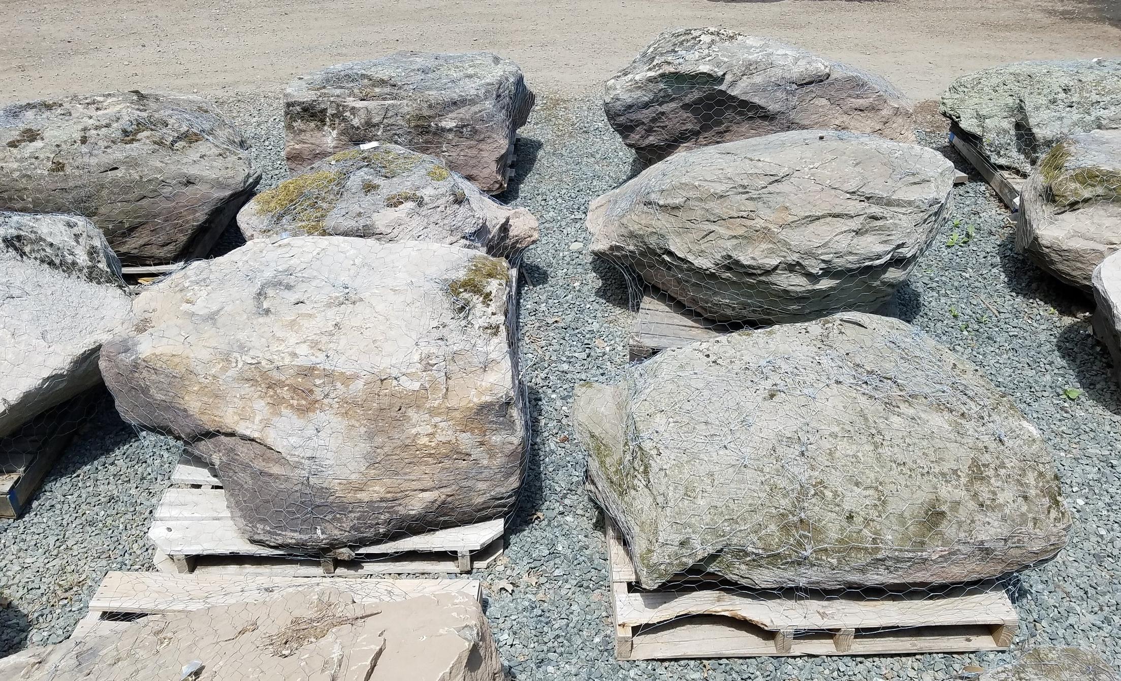 Large Fieldstone Boulders