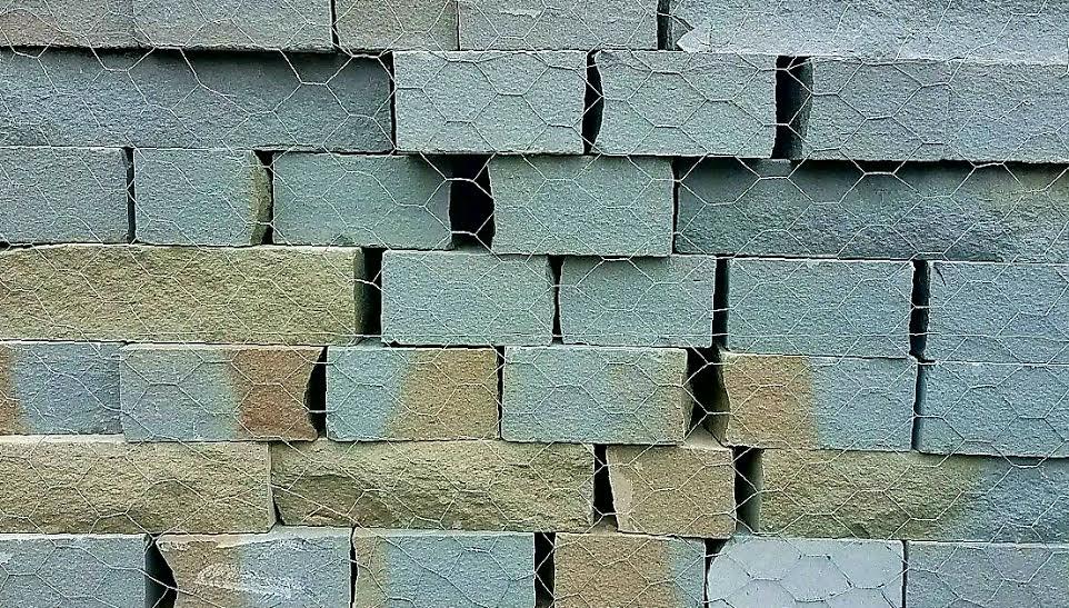 Bluestone Veneer Wall
