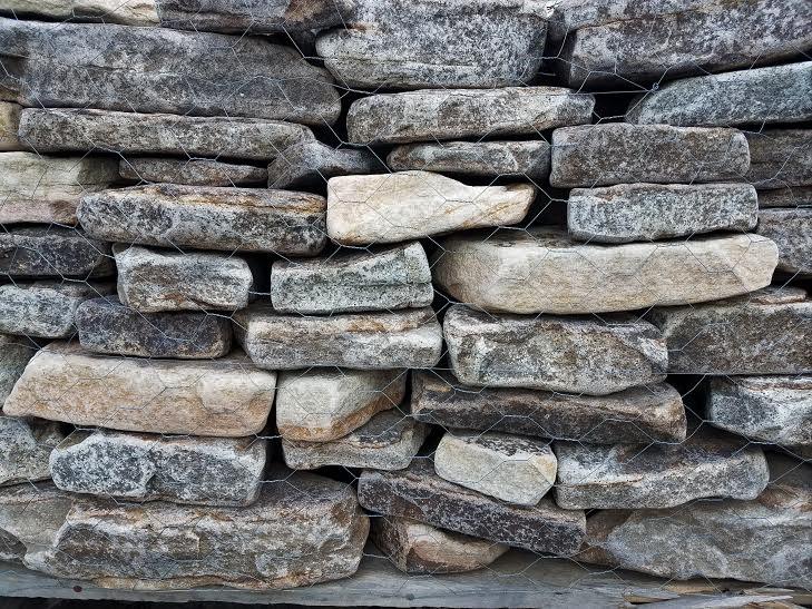 Tumbled Old World Wall
