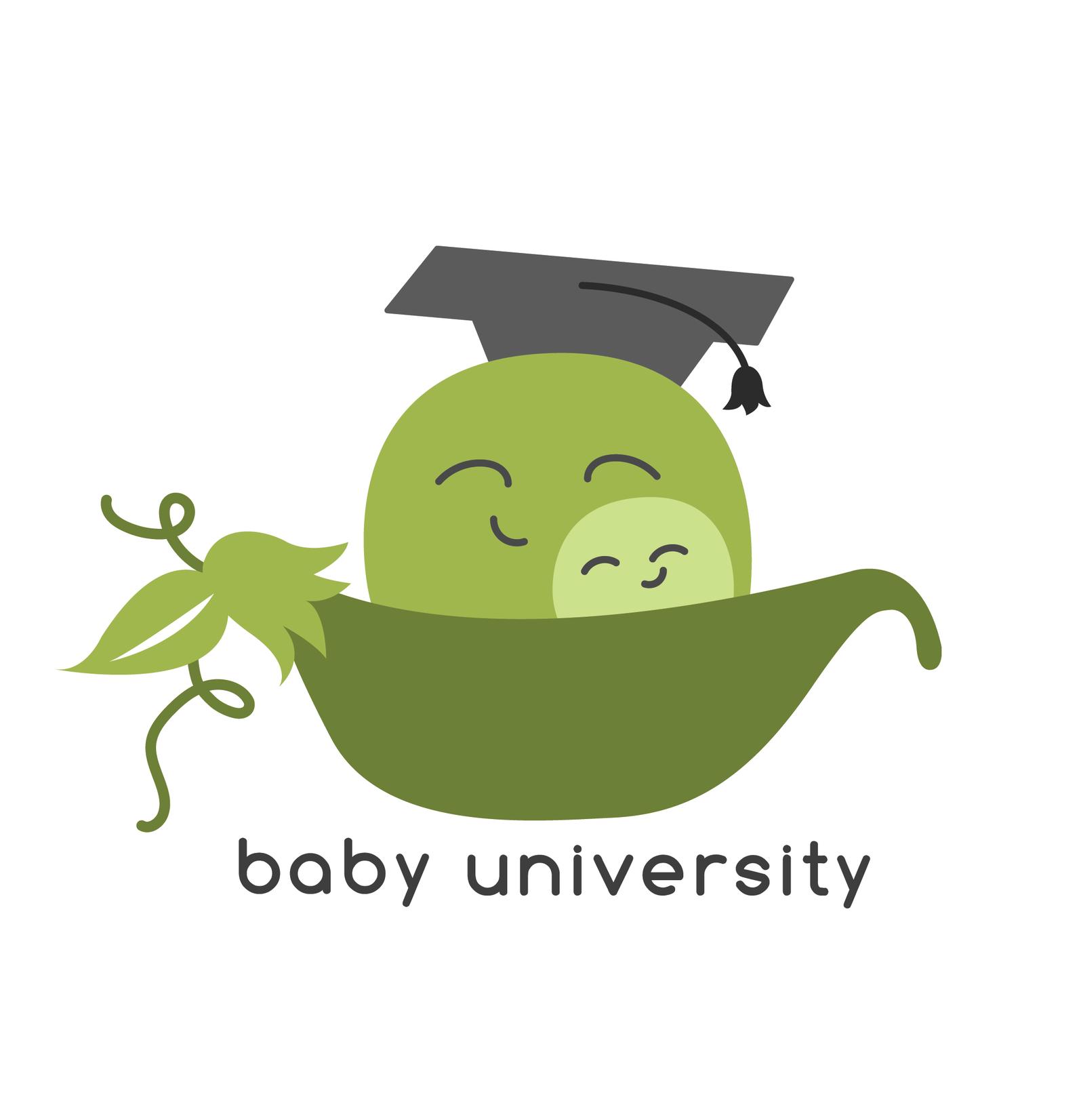 Baby University Branding Package