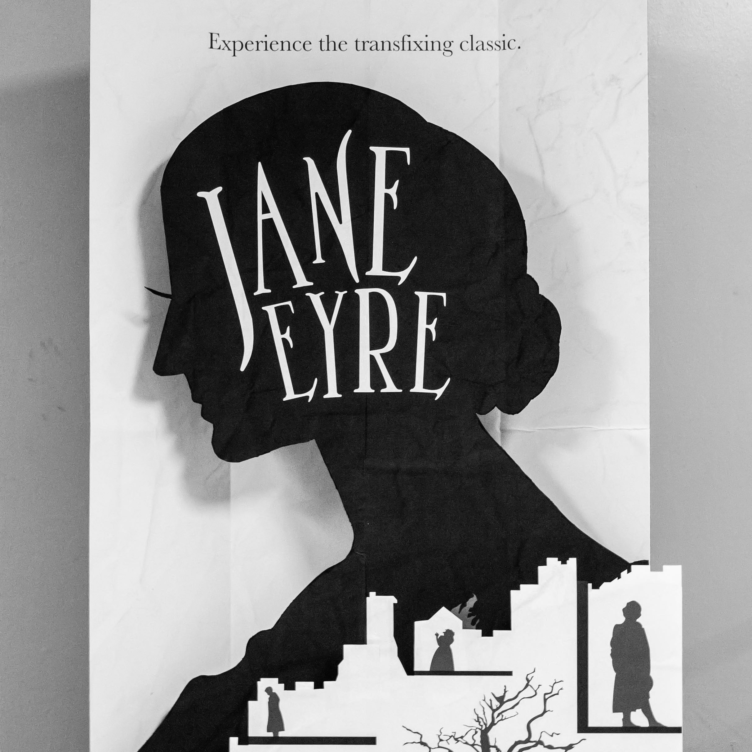 Jane Eyre Movie Poster & Stand-Up