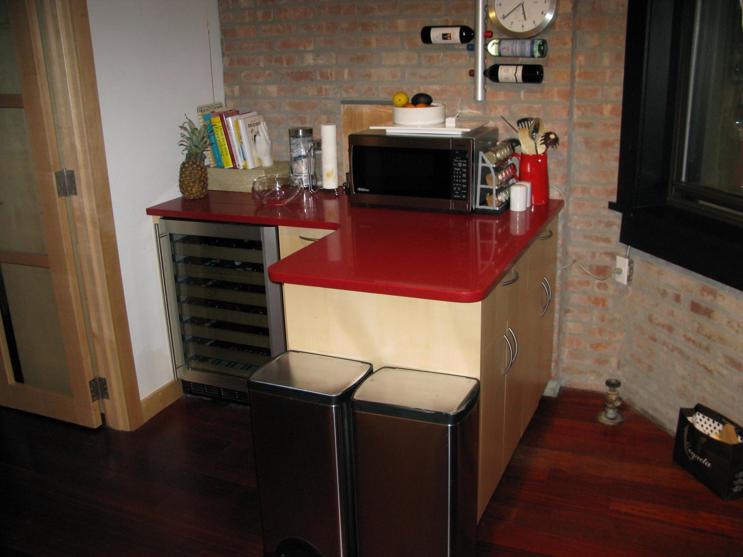 Quarter-sawn Maple Kitchen & Closet
