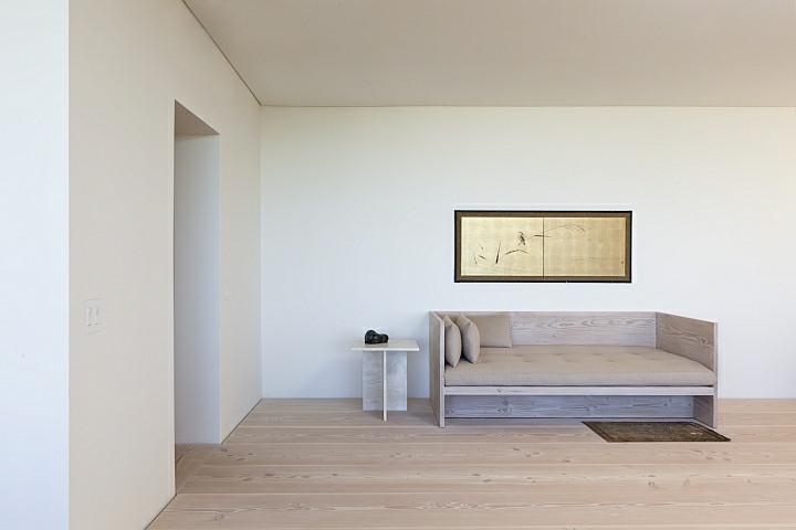 European Douglas Fir Couch & End Table