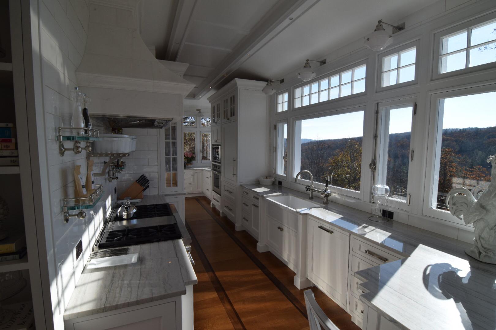 Custom Kitchen with Granite Countertop