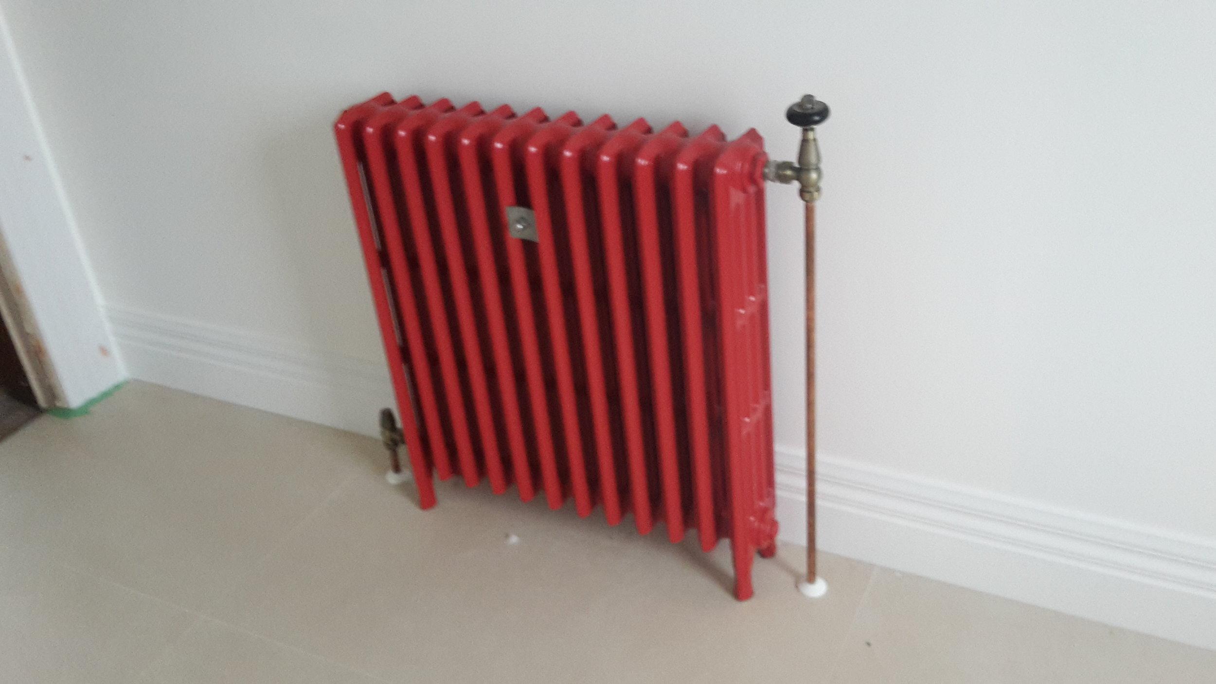 Coloured radiator