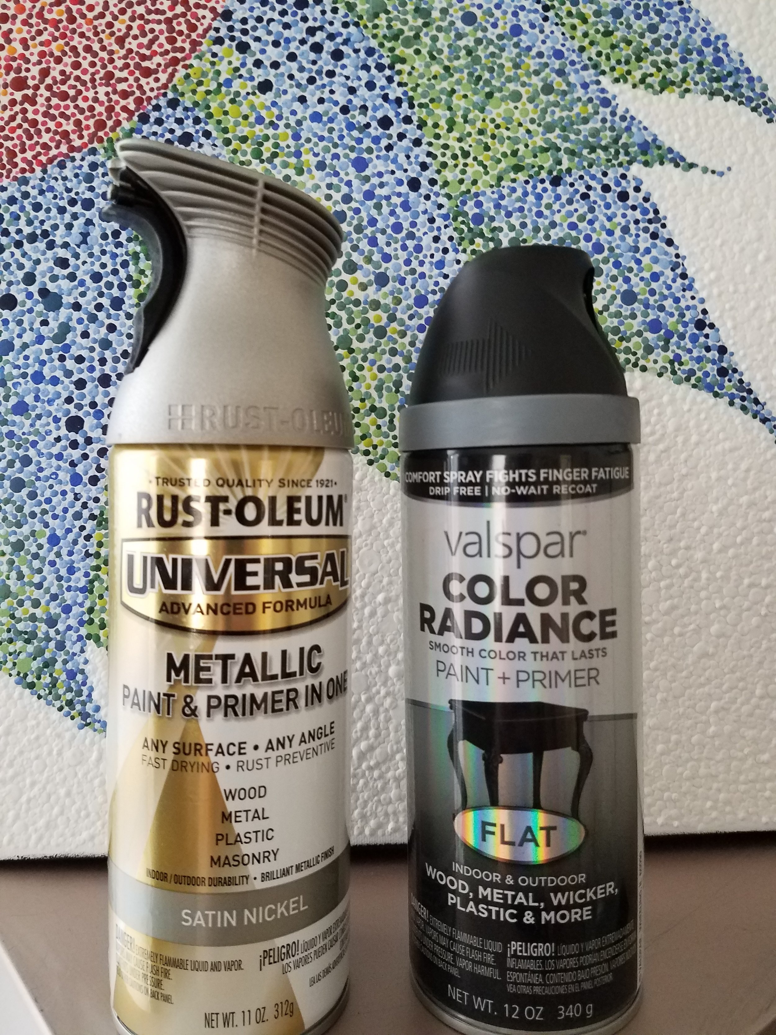 How To Makeover Your Ceiling Fan DIY: Spray Paint Cans