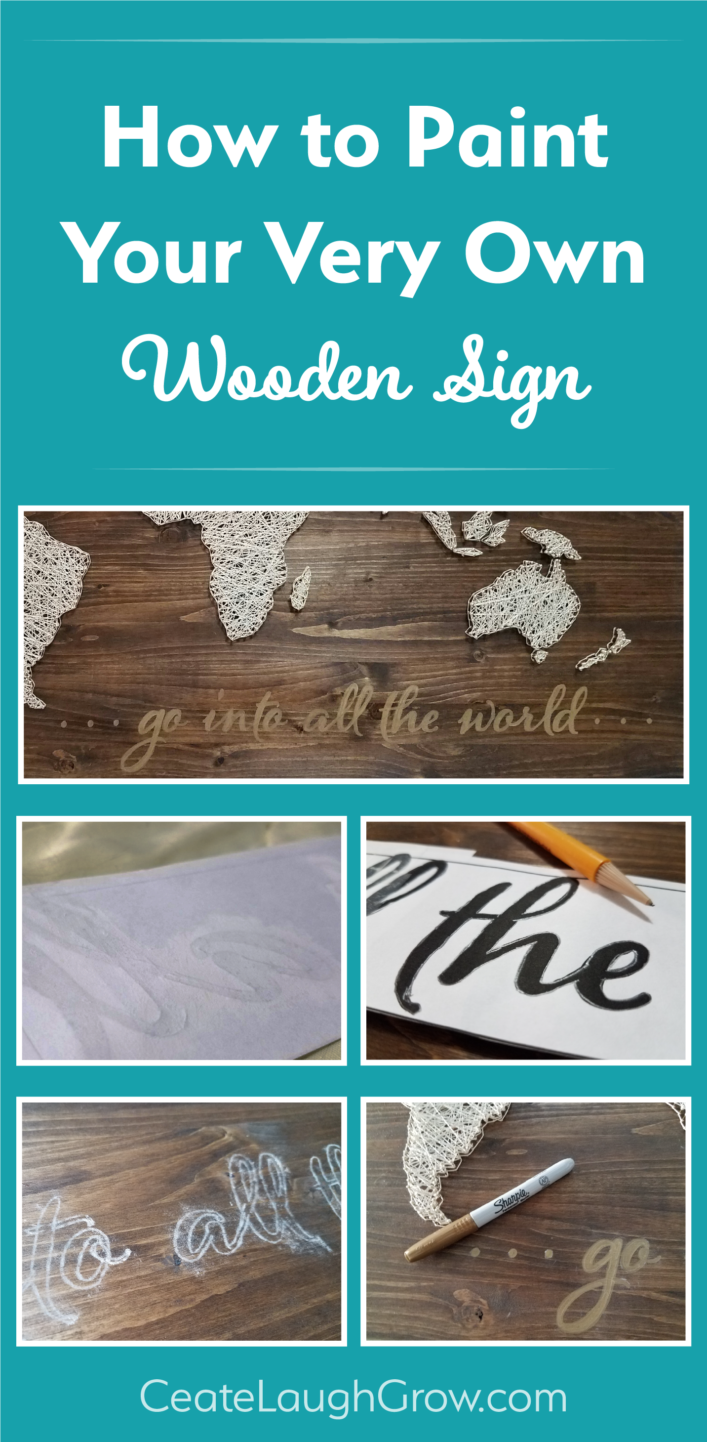 How to Make Your Own Painted Wooden Sign
