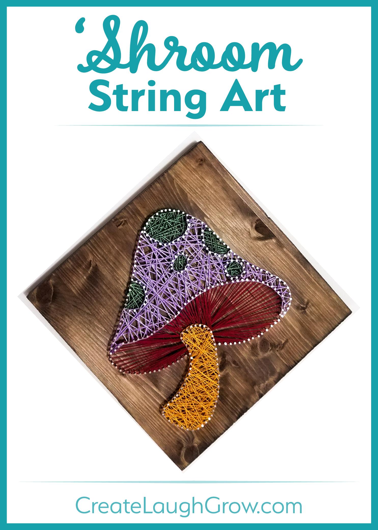 Mushroom-String-Art-Pin