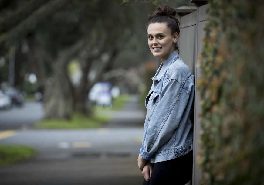 Genevieve Mora - image from NZ Herald story, taken by Dean Purcell