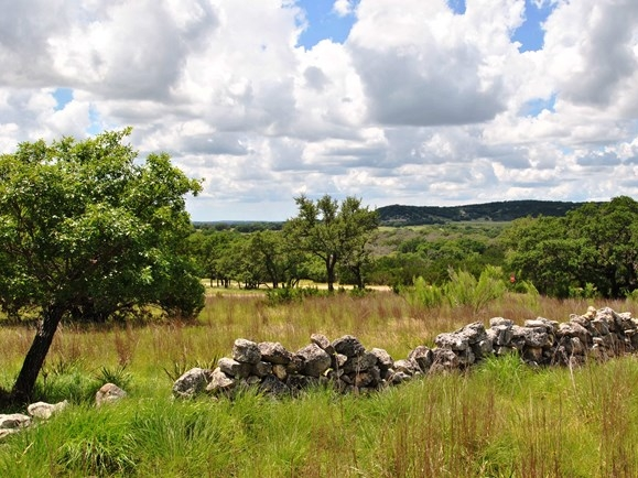 The rolling land of Cooolwater Ranch's Texas Hill Country