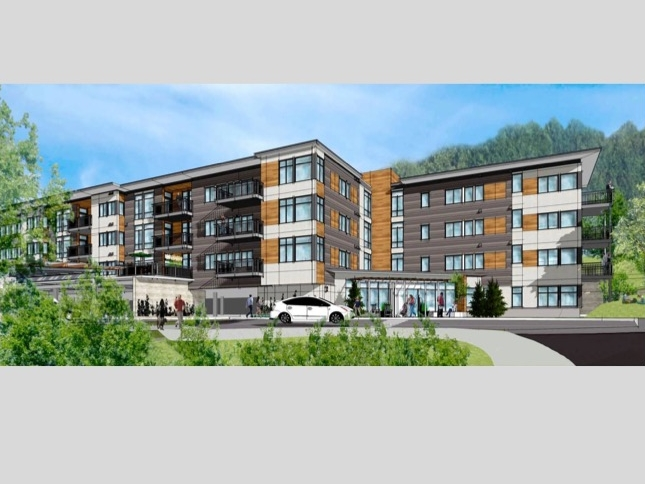 Proposed market-rate condominiums for the Centera site