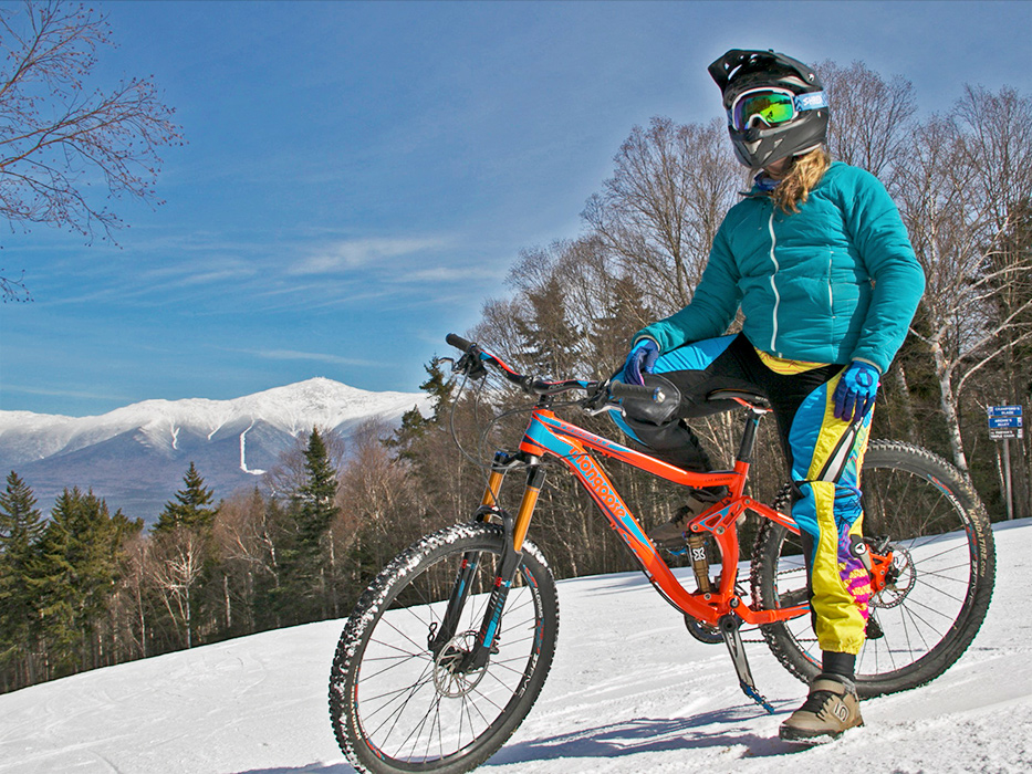 Downhill (on wheels) to celebrate spring at Bretton Woods