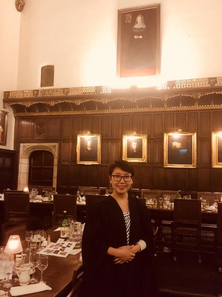 First Formal Hall! Matriculation dinner