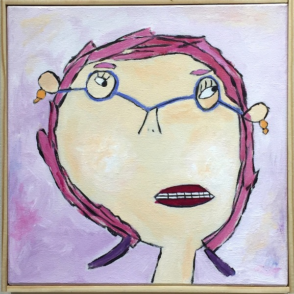 I'm Not the Girl I Used to Be - Pink with Blue Glasses.jpg