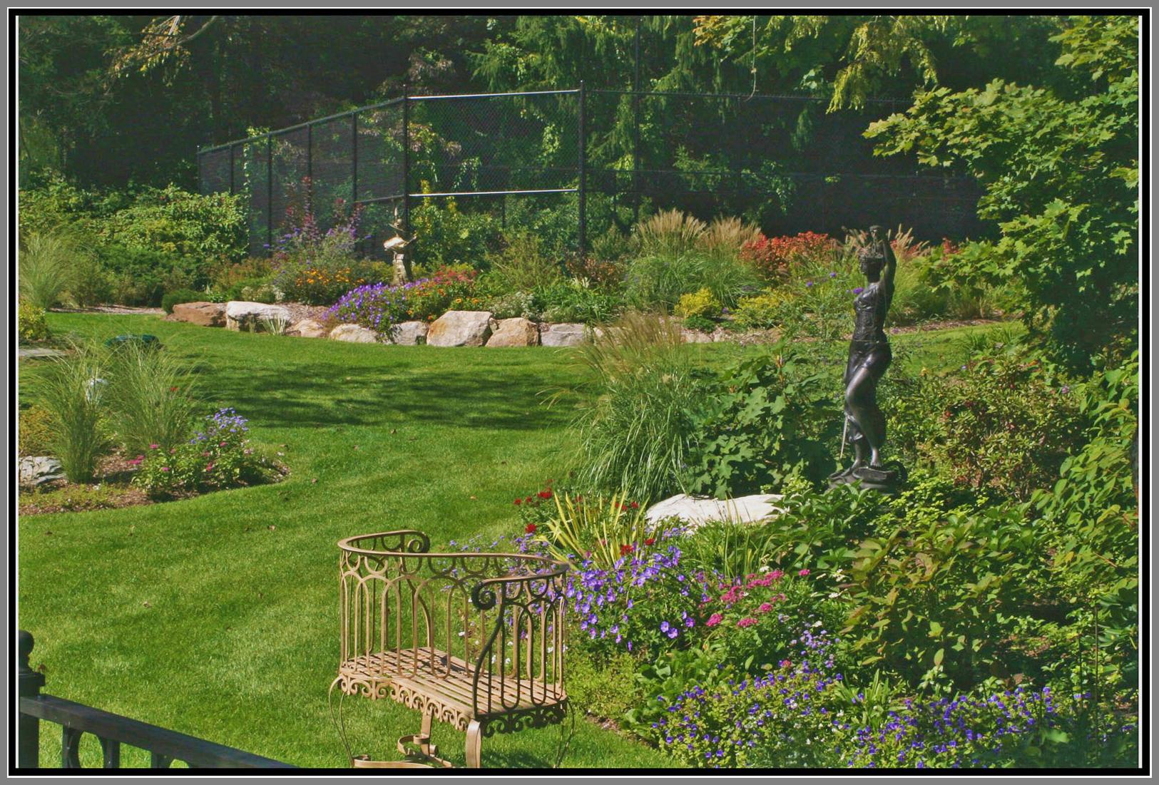 Garden for relaxation