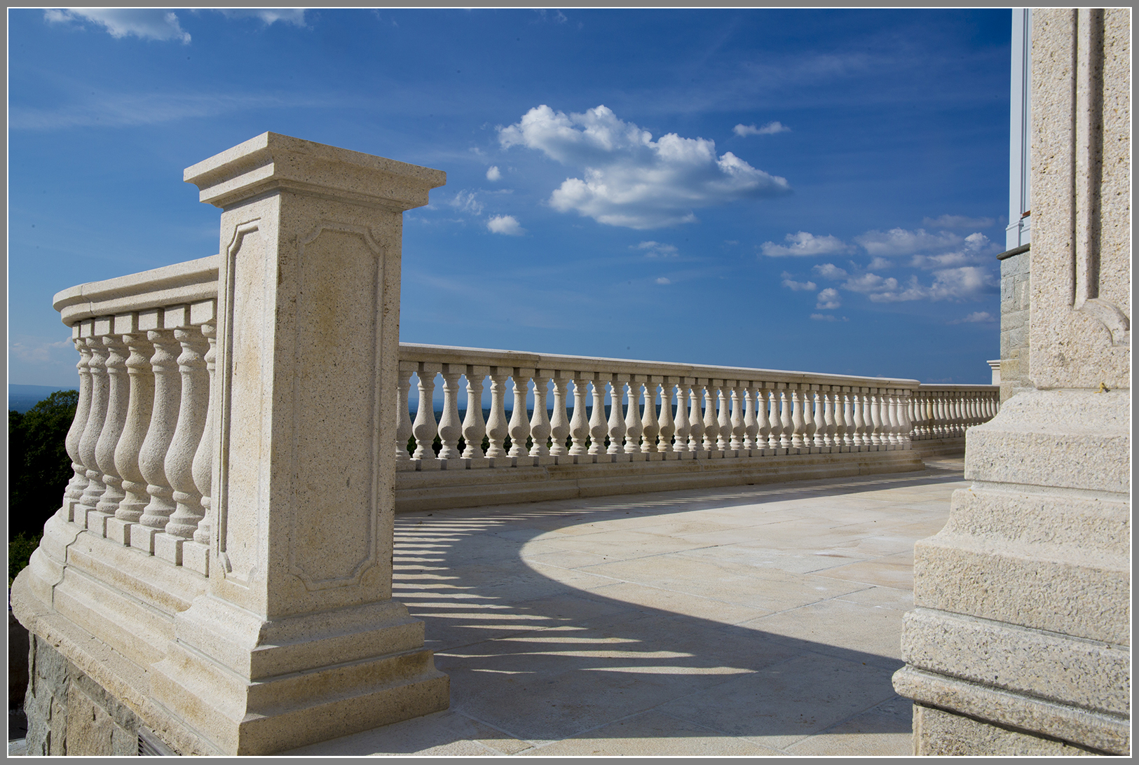 Granite Balustrade System by Artistic Outdoors