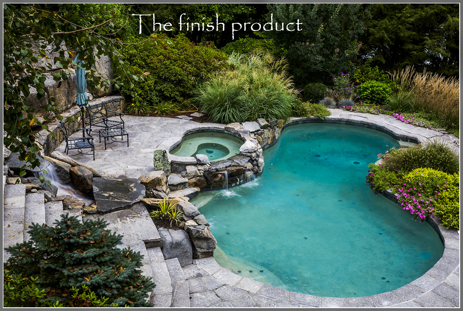 Best pool and landscape design by Artistic Outdoors
