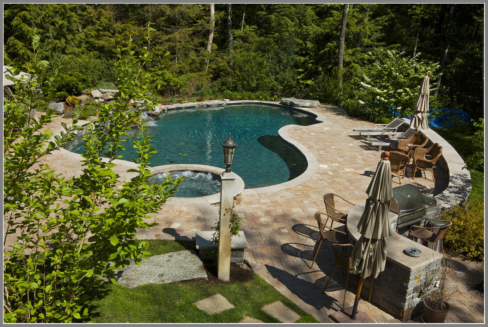 More than a pool-a backyard paradise