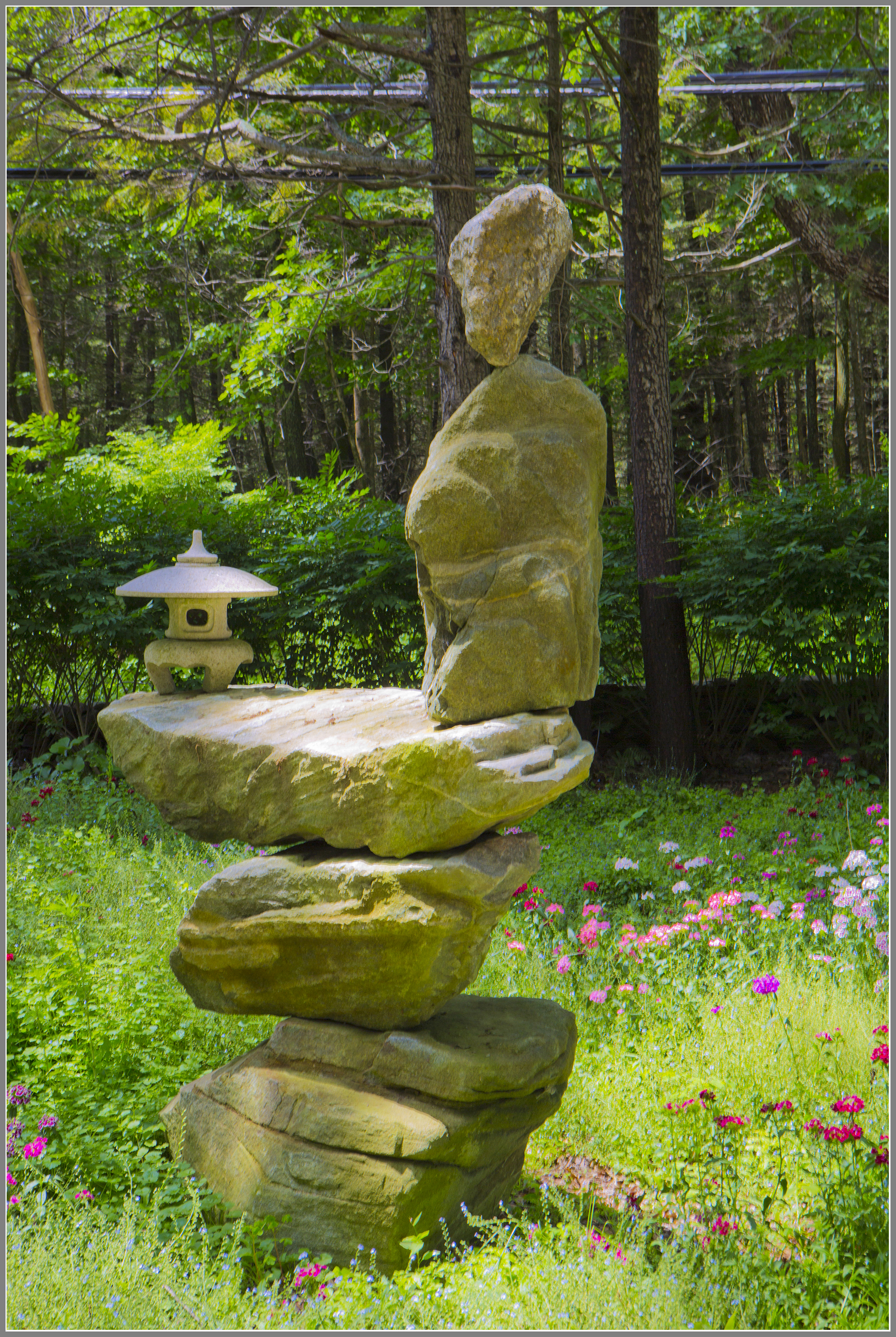 Cairn variation of stone art by Artistic Outdoors