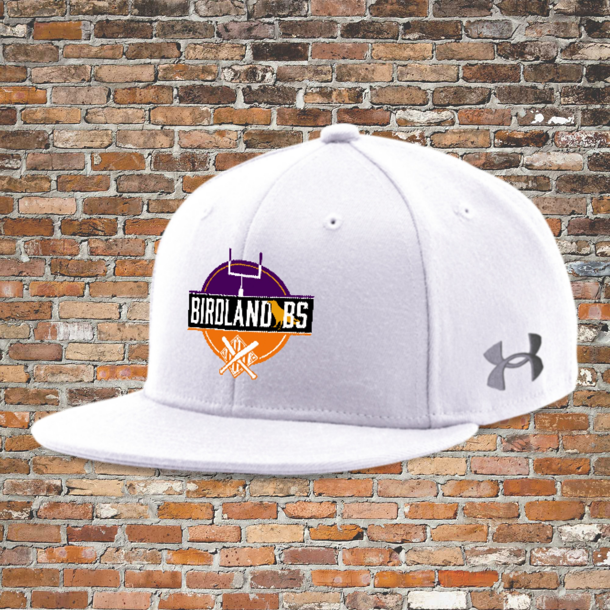 Under Armour Flat Bill Cap - Solid (White): Click for Special Pricing