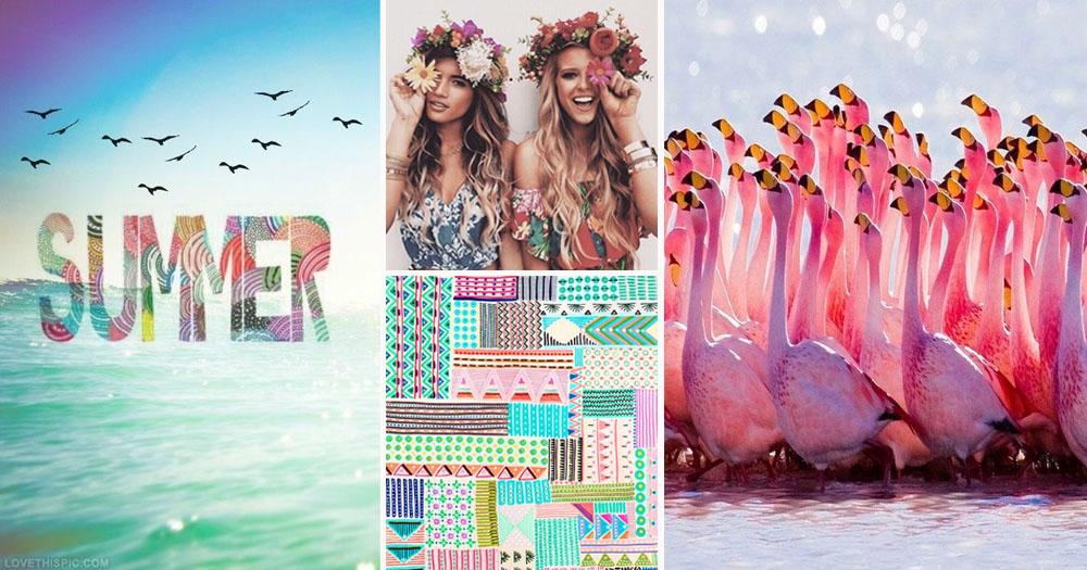 summer ,  VP Fashion ladies ,  BlinkBlink pattern ,  flamingos