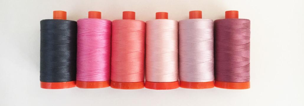 Aurifil 50 wt thread