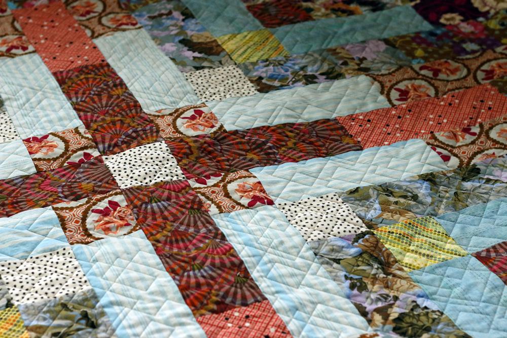 Maze quilting on Jane.jpg