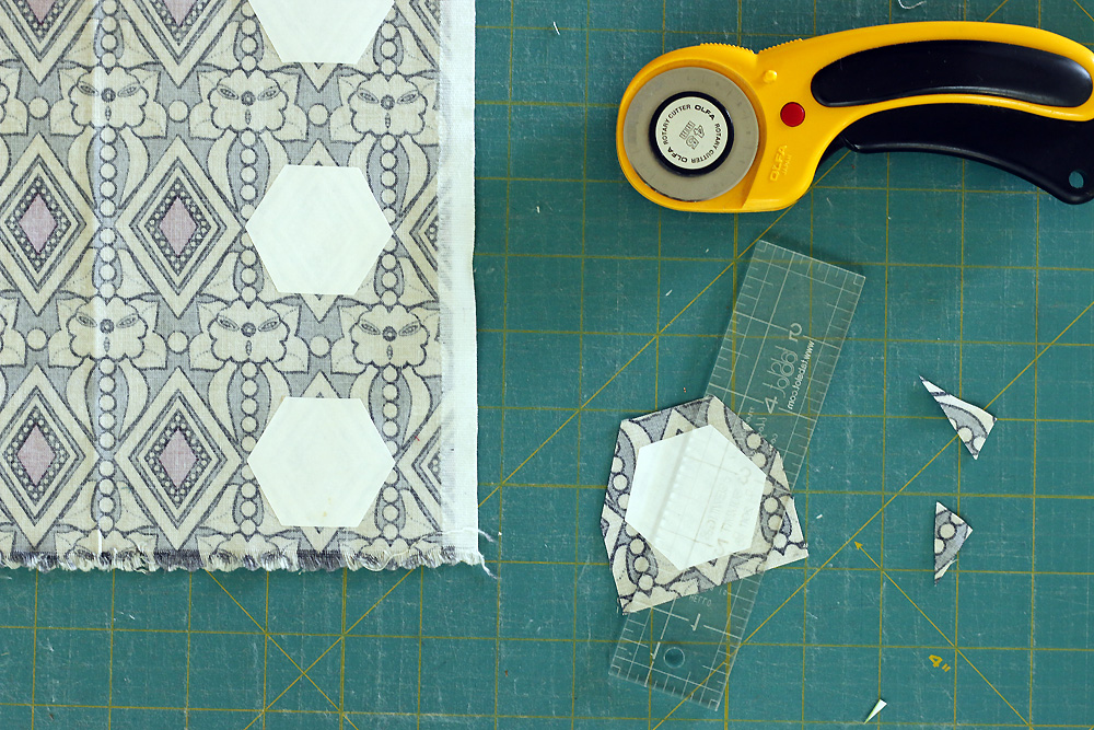 Fussy cutting for English paper piecing.jpg