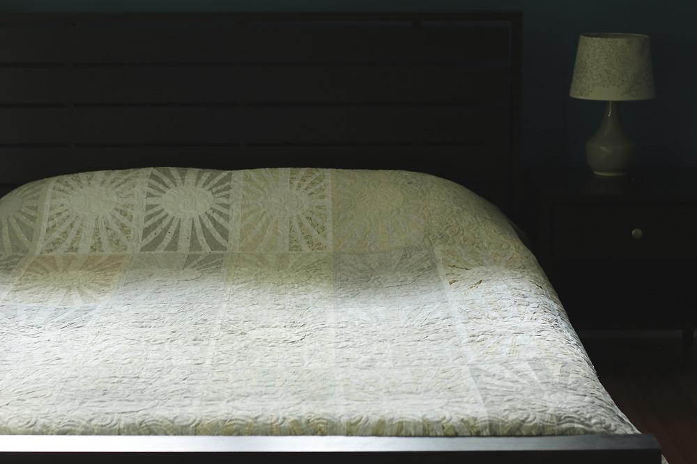 facing east quilt queen size